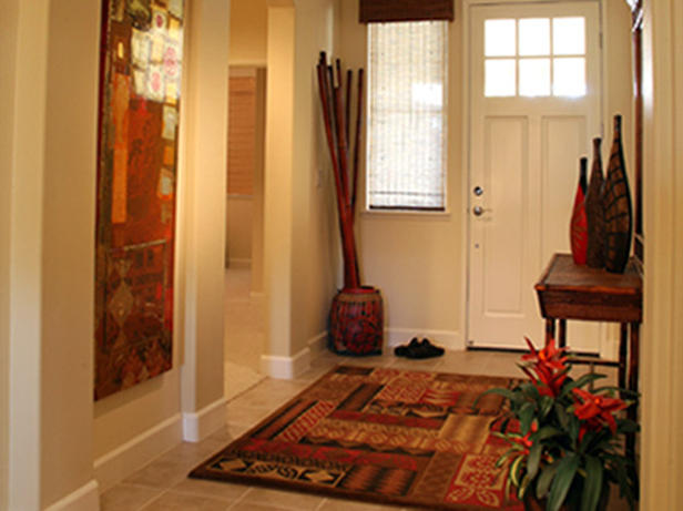 Entryway from hgtv.com